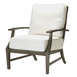 croquet lounge chair slate gray