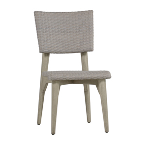 wind side chair in oyster/ oyster – frame only
